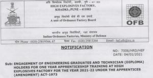 apprenticeship vacancy 2021