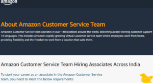 amazon work from home jobs 2021